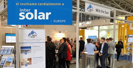 Incontra i nostri esperti del fotovoltaico a Intersolar